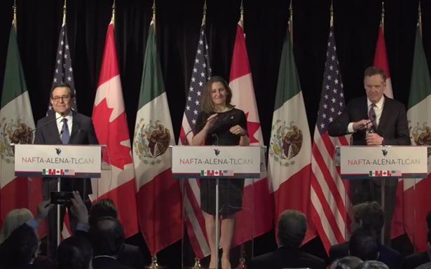 Ernesto Cordero pide a Canadá no excluir a México del TLCAN