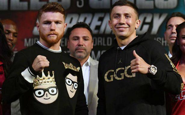 ¿Dónde veo en vivo la pelea Canelo vs Golovkin?