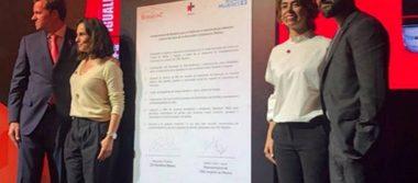 Ana Serradilla y Poncho Herrera promueven igualdad de oportunidades