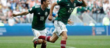 Chucky Lozano, elegido Jugador del Partido México vs Alemania
