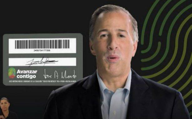 Ordenan investigar reparto de tarjetas de José Antonio Meade
