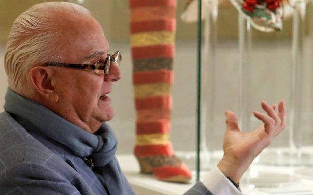 """Manolo Blahnik presenta la exposición """"El arte del zapato en Madrid"""""""
