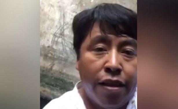 [Video] Diputado poblano queda atrapado en pozo