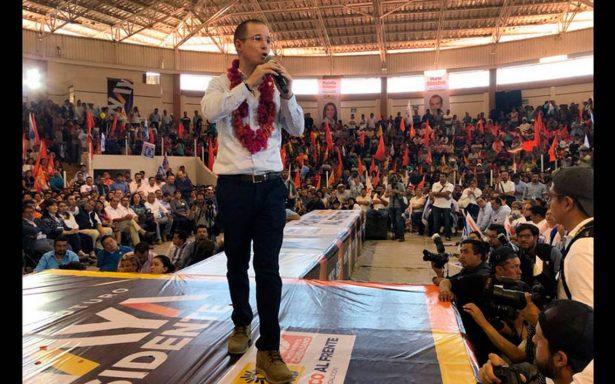 No nos vamos a dejar amedrentar ante violencia: Ricardo Anaya