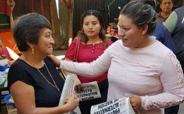 Candidata de Morena a edil en Chiapas denuncia atentado en su contra