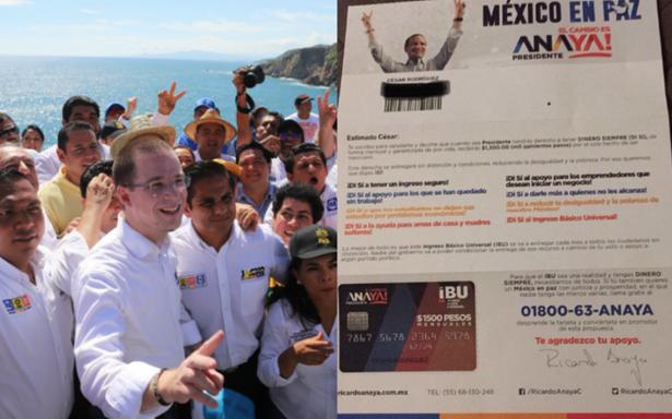 Ricardo Anaya promete arrancar renta básica universal en Guerrero
