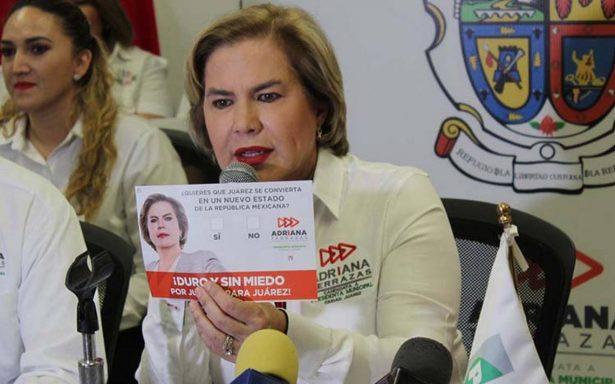 Candidata propone que Ciudad Juárez se convierta en un estado