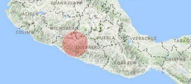Guerrero, sin afectaciones tras sismo de 5.2