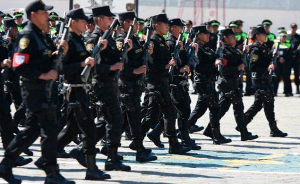 En México 8 de cada 10 policías son hombres según estudio