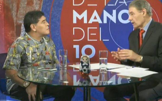 México no merece ser sede del Mundial: Maradona