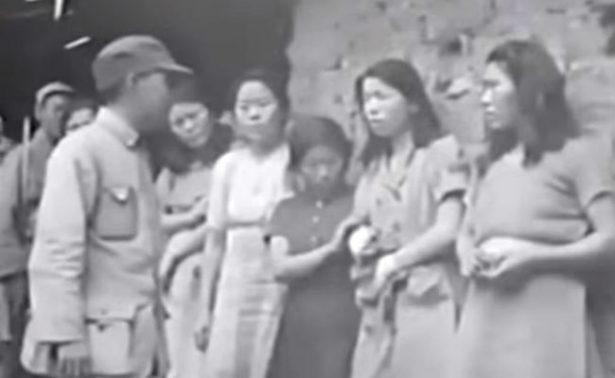 Revelan video de esclavas sexuales coreanas durante la II Guerra Mundial