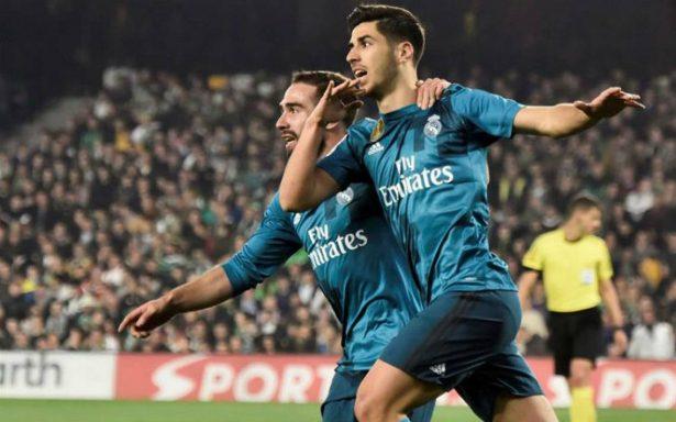 Doblete de Asensio guía remontada del Real Madrid ante el Betis