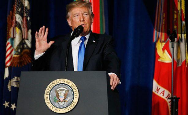 Trump concentra nueva estrategia en Afganistán con aliados de EU