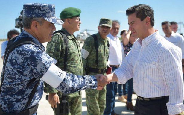 Peña Nieto defiende entrega de recursos en Chiapas y Oaxaca tras sismos