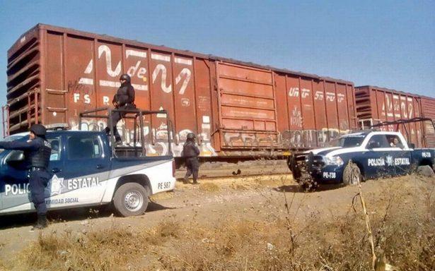 Veracruz, Puebla, Guanajuato y Querétaro los estados con mayor número de robos a tren