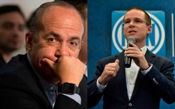 Anaya promueve su candidatura con recursos públicos y abusando del poder, acusa Calderón