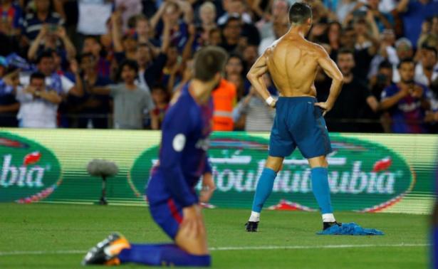 CR7 sale expulsado en triunfo del Madrid ante el Barcelona