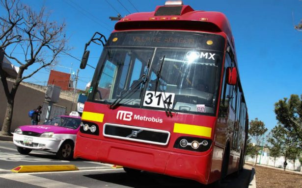 Metrobús suspende servicio en nueve estaciones por Fiestas Patrias