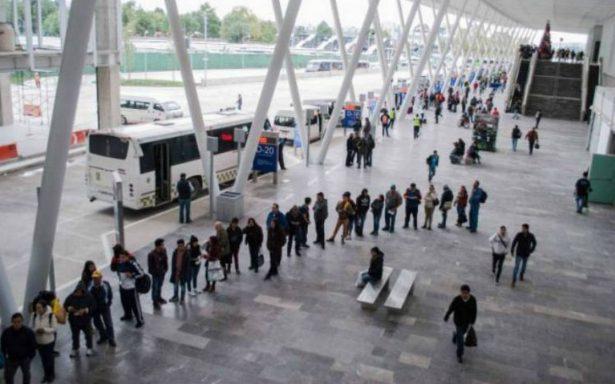 Transportistas amenazan con tomar calles aledañas al Mexipuerto Cuatro Caminos