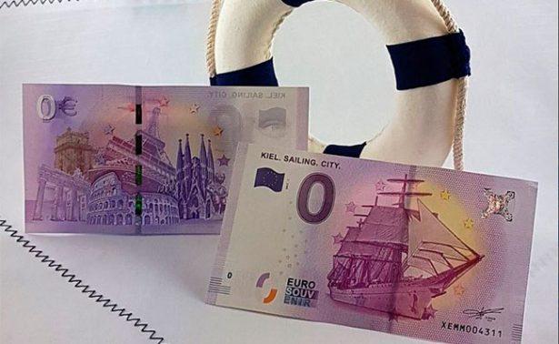 Descubre el nuevo billete conmemorativo de 0 euros