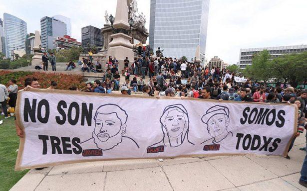 #NoSonTresSomosTodo Claman justicia por asesinato de estudiantes de cine