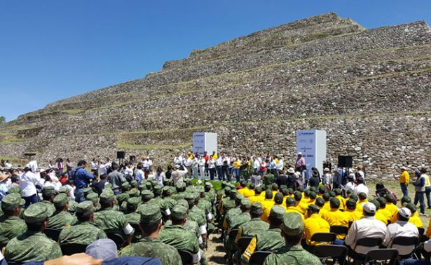 Como parte del Día del Árbol reforestan Tlaxcala