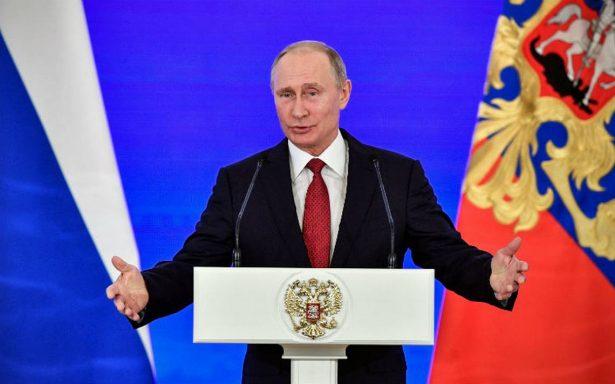 Putin denuncia intentos de EU de influir en las presidenciales rusas