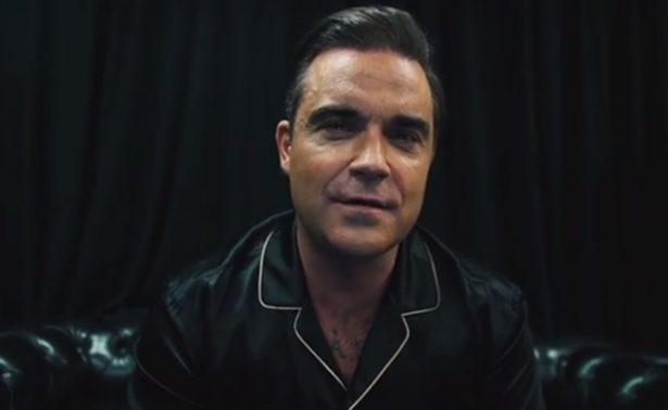 Robbie Williams se muestra ¡desnudo! frente a sus fans