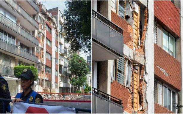Vecinos de Patricio Sanz 37 logran orden de demolición; recuperan sus pertenencias