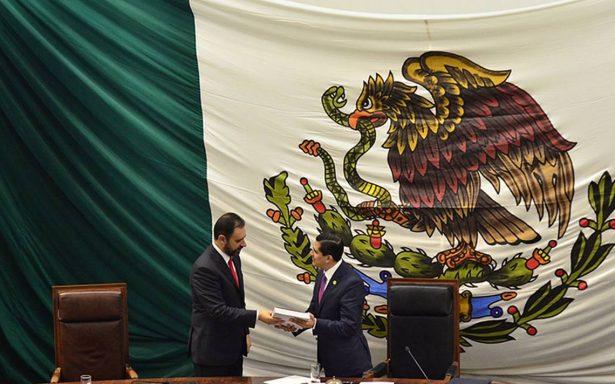 Entrega gobernador de Zacatecas su Primer Informe de Gobierno