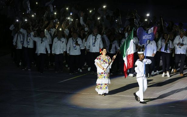 Así desfiló México en la inauguración de #Barranquilla2018