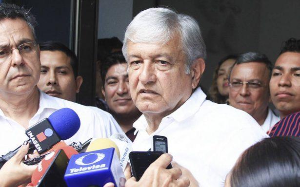 AMLO aplaude a PGR y pide rapidez en investigación contra Barreiro
