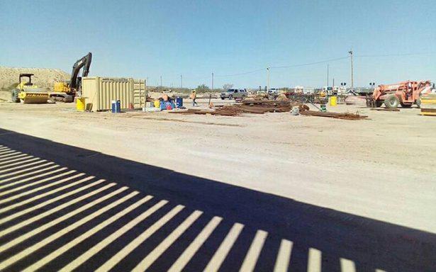 Entre Ciudad Juárez y El Paso ya está terminado el muro fronterizo