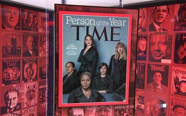 """Time designa """"Persona del Año"""" a quienes rompieron silencio sobre acoso sexual"""