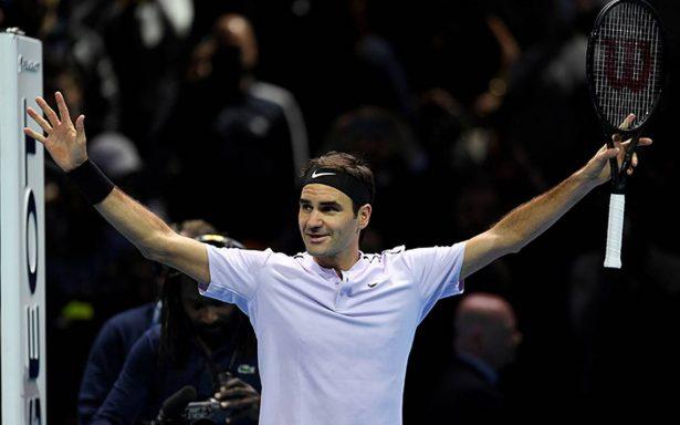 Federer con todo: derrota a Sock en inauguración del Masters