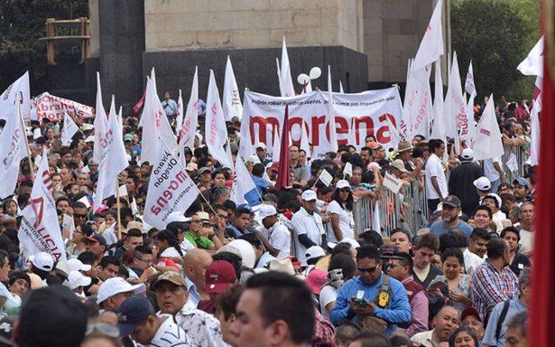 Morena rechazará dinero del erario por ganar elecciones