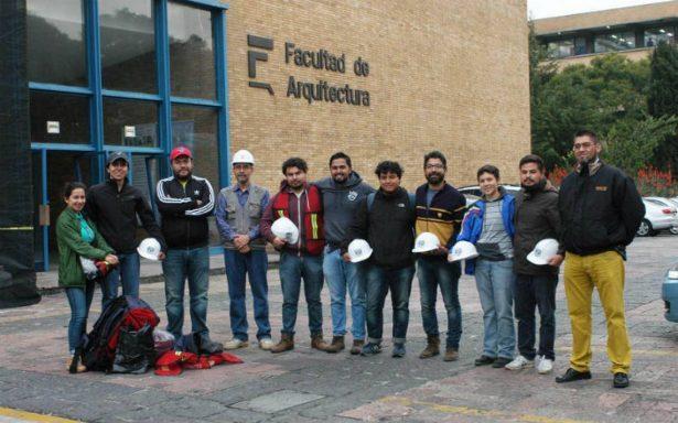 Alumnos y profesores de la UNAM viajan a Oaxaca para evaluar daños en inmuebles