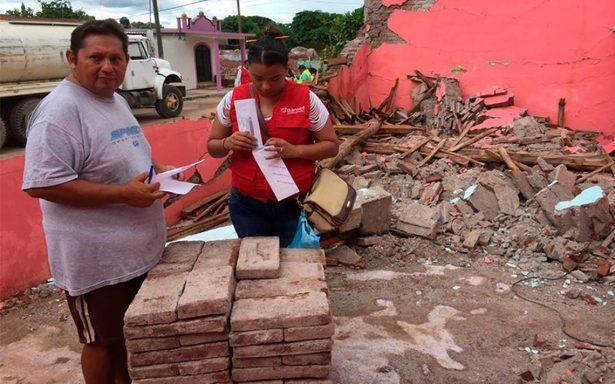 Beneficiarios en Oaxaca no reclaman ayuda del Fonden