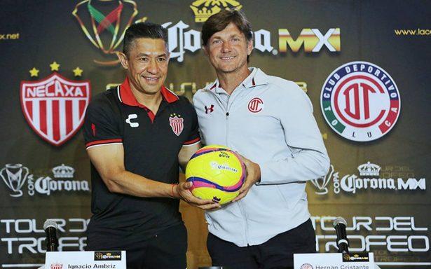 Todo listo para la final de la Copa MX entre Toluca y Necaxa