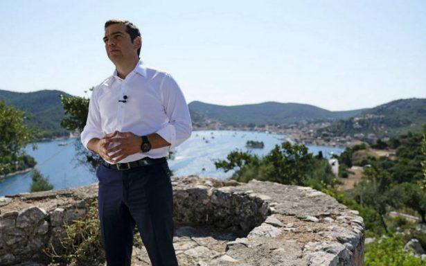 """Desde Ítaca, Alexis Tsipras anuncia el """"fin de la Odisea moderna"""" griega"""
