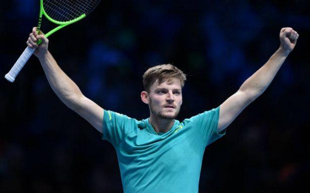 ¡David contra Goliat! Goffin contra Federer en semis en Londres