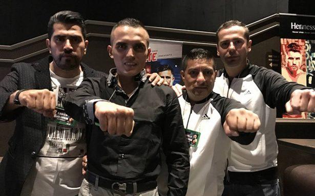 Paco Rojo no le intimida su imbatido rival Ryan Martin