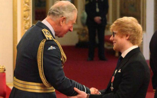 Ed Sheeran, reconocido por el príncipe Carlos como miembro del Imperio Británico