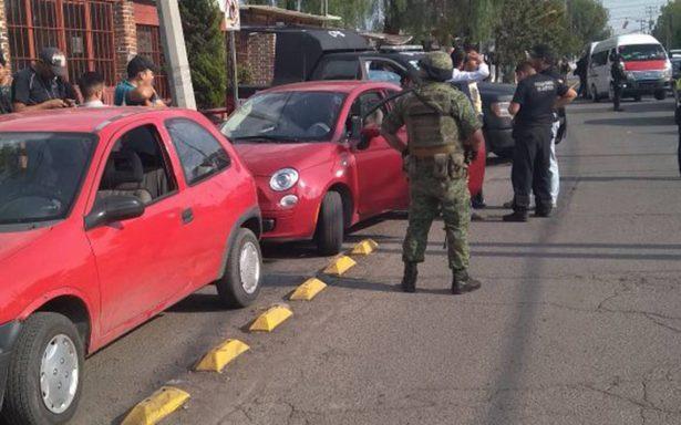 Megaoperativo en el municipio de Cuautitlán Izcalli, tras homicidio de comandante