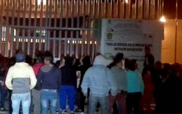 Autoridades controlan riña al interior del penal Neza-Bordo