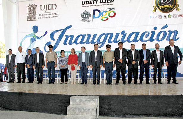 Inauguran obras en el Núcleo Universitario