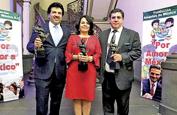 Reconoce Fundación Amantes de México al Municipio