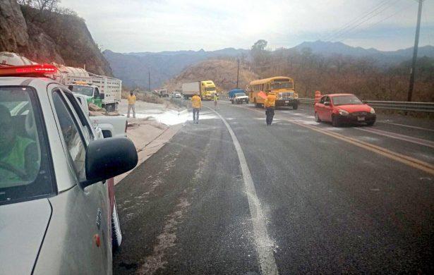 Reabren la circulación de la Supercarretera Durango-Mazatlán