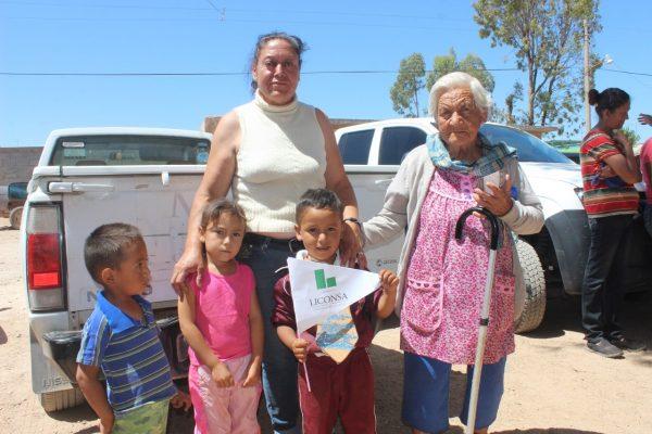 Amplían padrón de beneficiarios de leche Liconsa, en Cuencamé