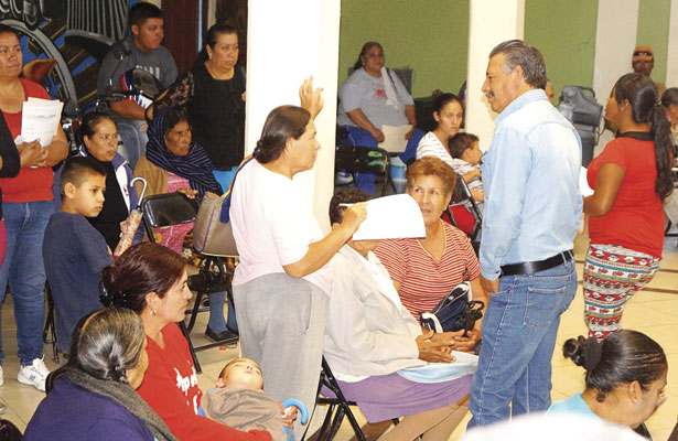 Repartió DIF Municipal  apoyos alimentarios, en S.P.